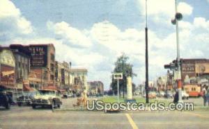 Shopping Center on Broadway Columbus GA 1961