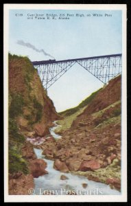 Cantilever Bridge, White Pass and Yukon R.R.