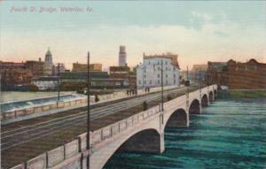 Iowa Waterloo Fourth Street Bridge