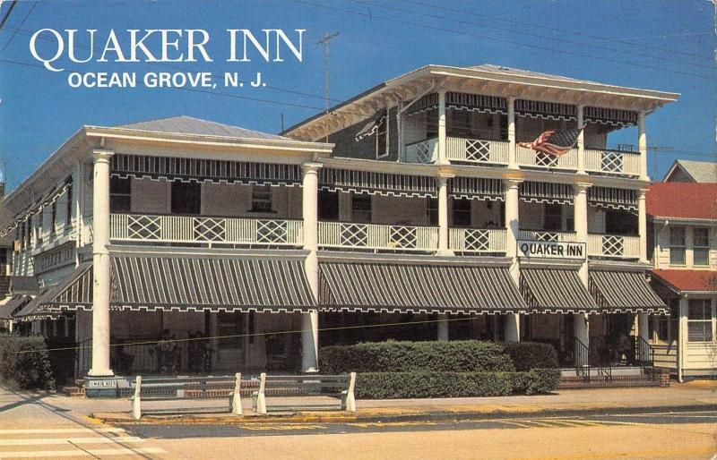 Br99231 Quaker Inn Ocean Grove N J Usa