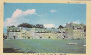 Pennsylvania Allentown Dormitory Muhlenburg College 1949 Dexter Press