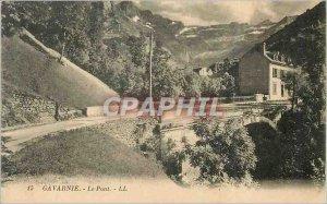 Old Postcard Gavarnie Bridge