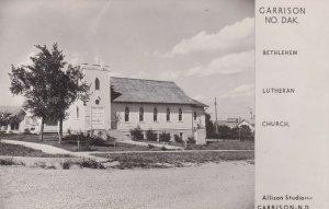 RP: GARRISON , North Dakota ,1930-40ss ; Bethlehem Lutheran Church