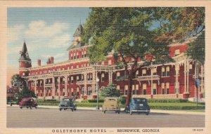 Georgia Brunswick Oglethorpe Hotel Curteich sk7210