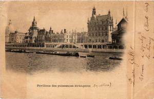 CPA PARIS EXPO 1900 - Pavillon des puissances étrangeres (306823)