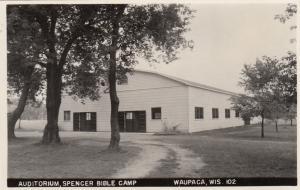 RP: WAUPACA, Wisconsin , 30-40s; Auditorium, Spencer Bible Camp