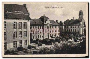 Old Postcard Dvur Kralove N Lab