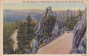The Pinnacles On Needles Higway Custer State Park Black Hill South Dakota