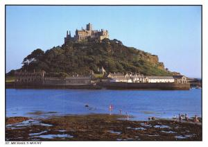 Cornwall Postcard St Michael's Mount, by Murray King S25