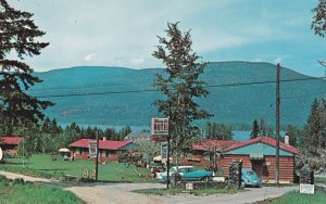 SORRENTO, British Columbia, Canada, 1950-1960's; Shuswap Lake Motel And Resort