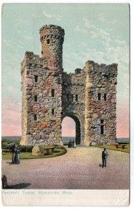 Worcester, Mass, Bancroft Tower