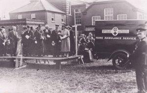Norwich St Johns Norfolk Red Cross Ambulance Photo