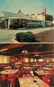 The Last Word Restaurant Fried Chicken Downers Grove Illinois IL  Postcard