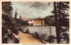 Chateau Lake Louise, Alberta, Canadian Rockies, Canada, Early Postcard, Unused