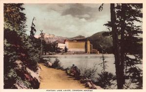 Chateau Lake Louise, Alberta, Canadian Rockies, Canada, Early Postcard, Unused