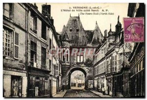 Old Postcard The Vendome Hotel de Ville Cote Nord Factory Basketry