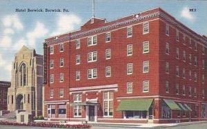 Pennsylvania Berwick Hotel