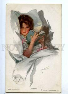 187260 Luxury Reading Belle by FISHER Vintage R&N #253 PC