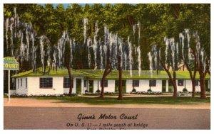 Florida  East Palatka , Ginn's Motor Court