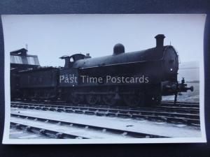 Steam Locomotive No.9291 L.M.S. London Midland & Scottish Railway RP Postcard