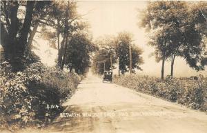 F19/ Duncannon New Buffalo Pennsylvania RPPC Postcard c1910 Road Auto
