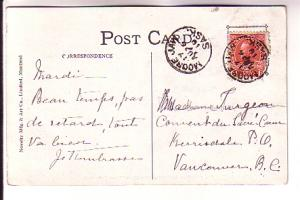 Zion Method Church Moose Jaw Saskatchewan, Novelty Mfg & Art Co 189 B&W