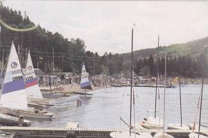 Ecole de Voile , Lac Des Sables, Ste Agathe , Quebec, Canada , PU-1994