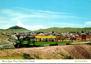 Colorado Cripple Creek Narrow Gauge Train