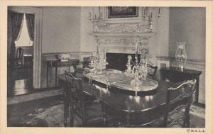 Interior Dining Room At Mount Vernon Virginia