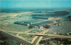 Aircraft Factory Martin Plant Middle River Maryland 1960s postcard Traub 5524