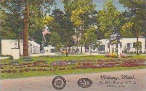 South Carolina Clinton Midway Motel