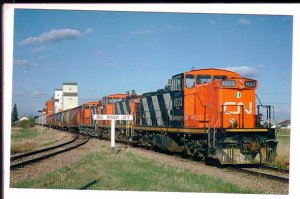 Railway Train, Shellbrook, Saskatchewan