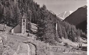 Switzerland Santa Maria und Piz palu 1946 Photo