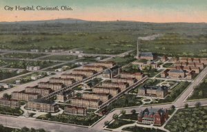 CINCINNATI , Ohio , PU-1915 ; City Hospital