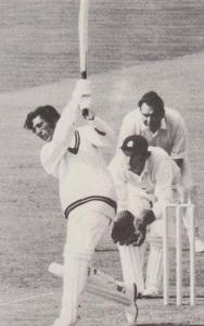 Zaheer Abbas Gloucester Rare Limited Edition Photo Cricket Postcard