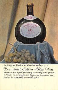 Dussaillant Chilean Rhine Wine Advertising Unused