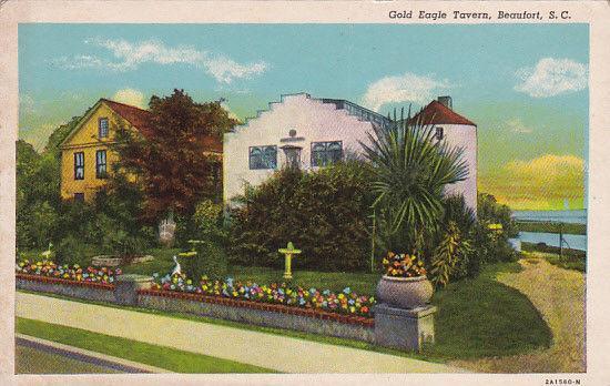 BEAUFORT , South Carolina , 1920s; Gold Eagle Tavern