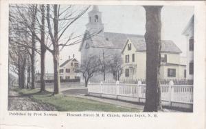 SALEM, New Hampshire, 1900-1910's; Pleasant Street M.E. Church