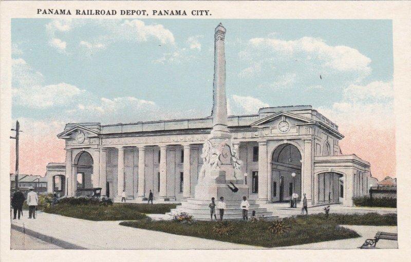 Panama Panama City Panama Railroad Depot sk1525a