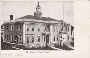 The Dorchester Woman's Club, Massachusetts, 00-10s