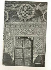 RP  Toledo , Spain, 30-50s Sala Capitular, portada Mudejar  Catedral