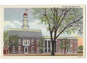 Delaware State House Dover Delaware Circa 1940