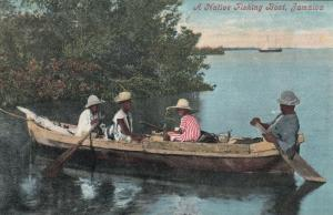 A Native Fishing Boat , Jamaica , 00-10s