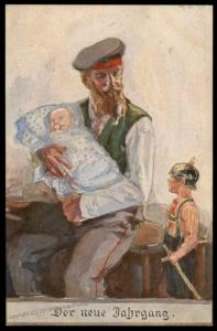 German WWI Army Patriotic War Dependents Welfare Donation Munich 79710