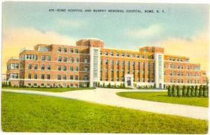Rome Hospital and Murphy Memorial Hospital, Rome, NY, New York State, Linen