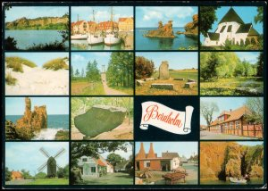 Denmark Posrt card- View of Bornholm, 1994 used