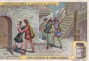 Liebig Vintage Trade Card S939 Merchant Of Venice 1908 No 2