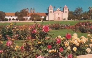 California Mission Santa Barbara Founded 1786