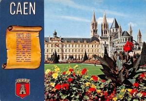 France Caen L'Abbaye aux Hommes, Guillaume le Conquerant Abbey Flowers