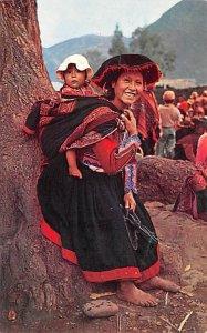 India Tipica de Pisac Cuzco Unused